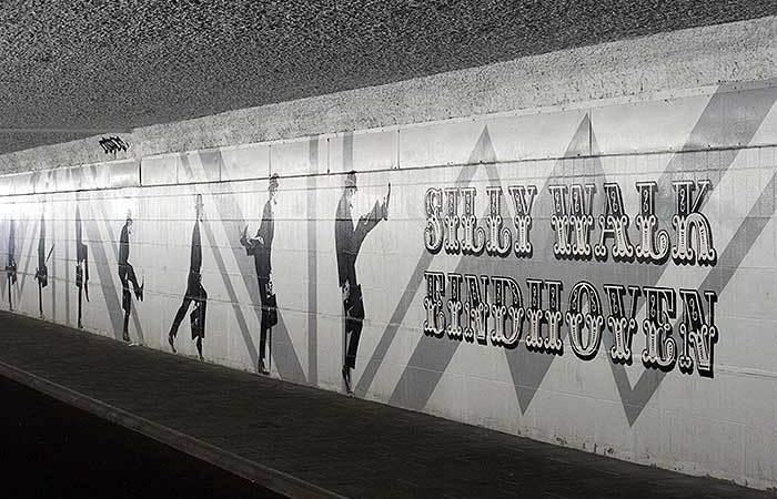 Straatkunst in Eindhoven
