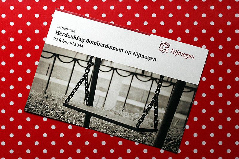 Publicatie uitnodiging herdenking Nijmegen