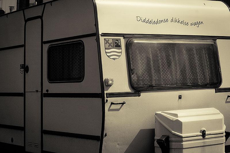 Fotoserie: Afscheid van een caravan