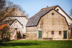 Prachtige boerderijen in de Ooijpolder bij Nijmegen