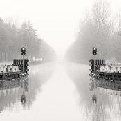 Fotoserie: Dolende ziel in grijs met wit