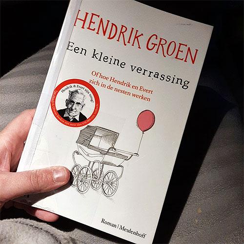 Boek hendrik Groen