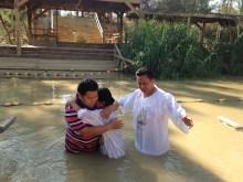 oma Dorkas just got baptism