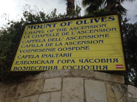 Mount of Olives (Bukit Zaitun)