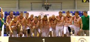 Lietuvių krepšininkai iškovojo Europos universitetų sporto žaidynių auksą