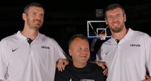 Kokius talentus slepia krepšininkai broliai Lavrinovičiai?