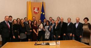 """Programos """"Kurk Lietuvai"""" dalyviai idėjomis dalysis su savivaldybėmis"""