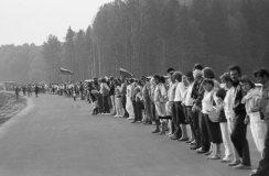 """Kaune pristatomas R. Požerskio nuotraukų albumas """"Lietuva 1988–1993"""""""