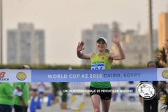 Laura Asadauskaitė-Zadneprovskienė pasaulio reitinge užima antrąją vietą