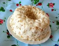Grietininis krekerių tortas