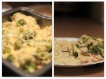 Vištiena su brokoliais ir Bešamelio padažu