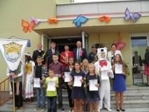 Ignalinoje pasveikinti geriausi mokiniai ir sportininkai