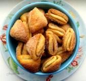 """Sausainiai """"Bučinukai"""" su varške ir cinamonu"""