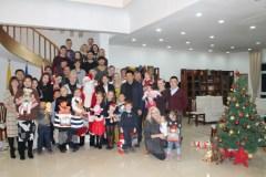 KINIJA. Pekine gyvenančių lietuvių šeimas subūrė Kalėdų šventė