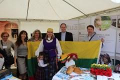 Lietuva pristatyta Tautų šventėje Italijoje