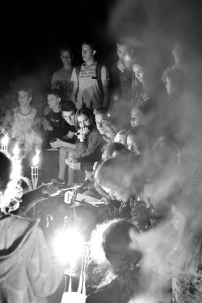 Užpaliuose Naktigonė be jaunų žmonių neįsivaizduojama