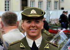"""Leitenantė Lauryna Bubnytė: """"Nuo 12 metų žinojau, kad būsiu karininkė ir tarnausiu savo šaliai"""""""