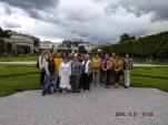 Kelionės į Austrijos bendruomenes akimirka
