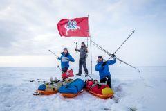 Nuostabą keliantys lietuvių žygiai: slidėmis per užšalusią jūrą, Grenlandiją ir 1200 km dviračiais iki Nordkapo