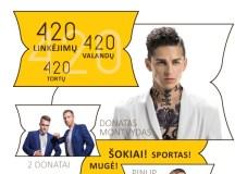 """Lazdijai kviečia į 420-ojo gimtadienio šventę ir pilietinę akciją """"Pastatykime Lietuvos Vytį"""""""