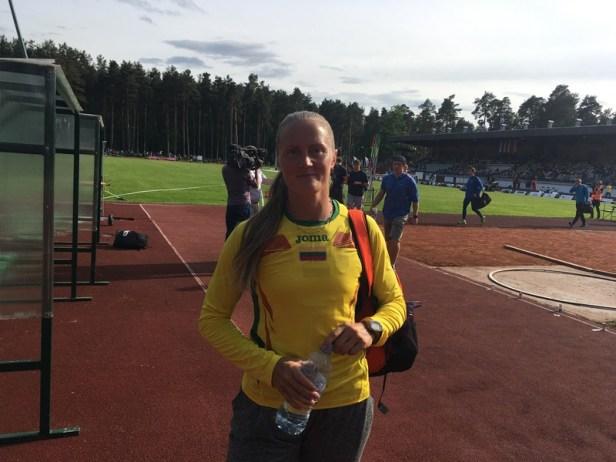 41-erių Indrė Jakubaitytė vis dar tarp stipriausių Pabaltijyje