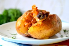 Grybais įdarytos bulvės