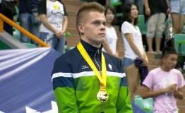 Pasaulio studentų sporto žaidynėse D. Rapšys pasipuošė antruoju aukso medaliu