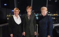 Lietuvos, Estijos ir Kroatijos Prezidenčių susitikime – dėmesys saugumui