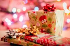 Kalėdinės dovanos jai