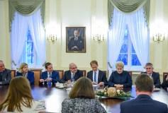 """Prezidentė: """"ES šalių vienybė – atsakas į saugumo iššūkius"""""""