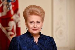 Prezidentė sveikina Lietuvos žmones Kovo 11-osios proga