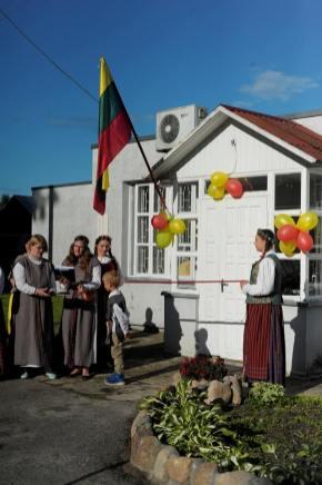 Bendruomenės namų atidarymas
