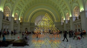"""Šimtmečio proga pagrindinę Vašingtono viešąją erdvę papuoš instaliacija """"Sodai"""""""