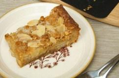 Agrastų ir migdolų pyragas
