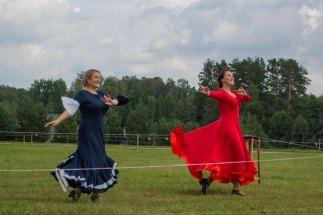 Utenos kultūros centro šokėjos