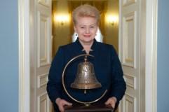 Prezidentės dovana Popiežiui – Laisvės varpas