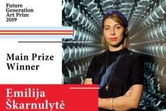 Menininkė Emilija Škarnulytė – tarptautinio konkurso laimėtoja