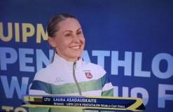 L. Asadauskaitė-Zadneprovskienė – Pasaulio taurės laimėtoja