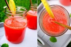 Gaivus arbūzų gėrimas