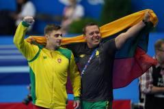Europos žaidynėse – Lietuvos gimnasto triumfas