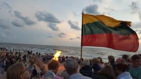 Senovinė ugnies naktis kvies dar kartą prisiminti Baltijos šalių vienybę