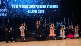 Šokėjai E. Sodeika ir I. Žukauskaitė – pasaulio čempionai