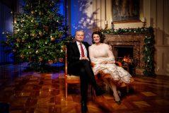 Gitanas ir Diana Nausėdos sveikina šv. Kalėdų proga