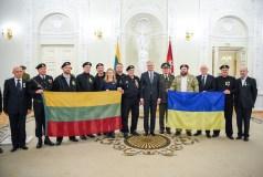 Sausio 13-osios atminimo medaliais apdovanoti 24 Lietuvos ir Ukrainos piliečiai