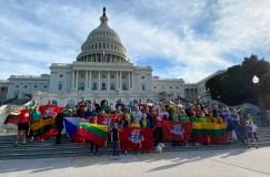 Vašingtone tradiciniu Sausio 13-osios bėgimu pagerbti Lietuvos laisvės gynėjai