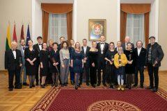 Švenčiant 697-ąjį Vilniaus gimtadienį išdalyti Šv. Kristoforo apdovanojimai