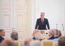 """Prezidentas: """"Linkiu Lietuvai tokio solidarumo, kokį pademonstravo prieš trisdešimt metų"""""""