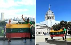 Su Lietuvos vėliava – aplink pasaulį