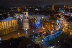 Nuotolinės Kalėdos: Vilniaus eglė keliasi į internetą