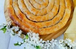 Špinatų ir sūrio pyragas